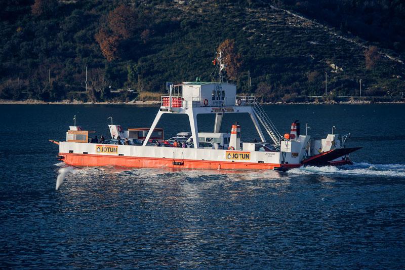 Lepetane-Kamenari Ferry