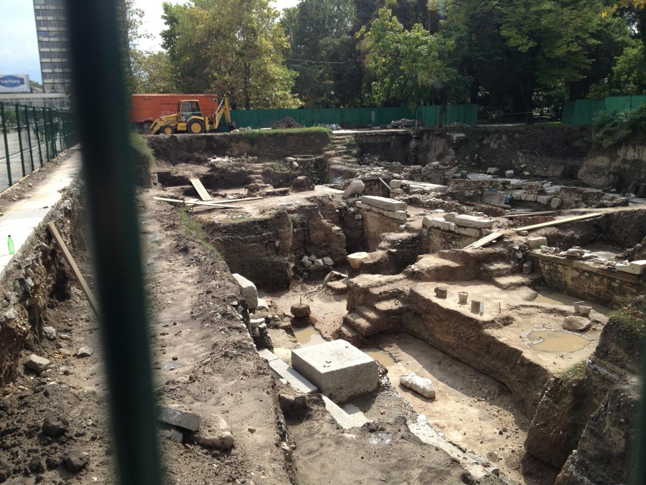 Ruins of Philippopolis' Forum
