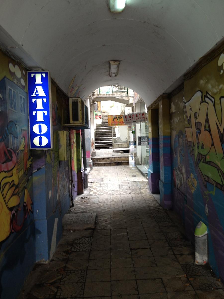Street art in Plovdiv