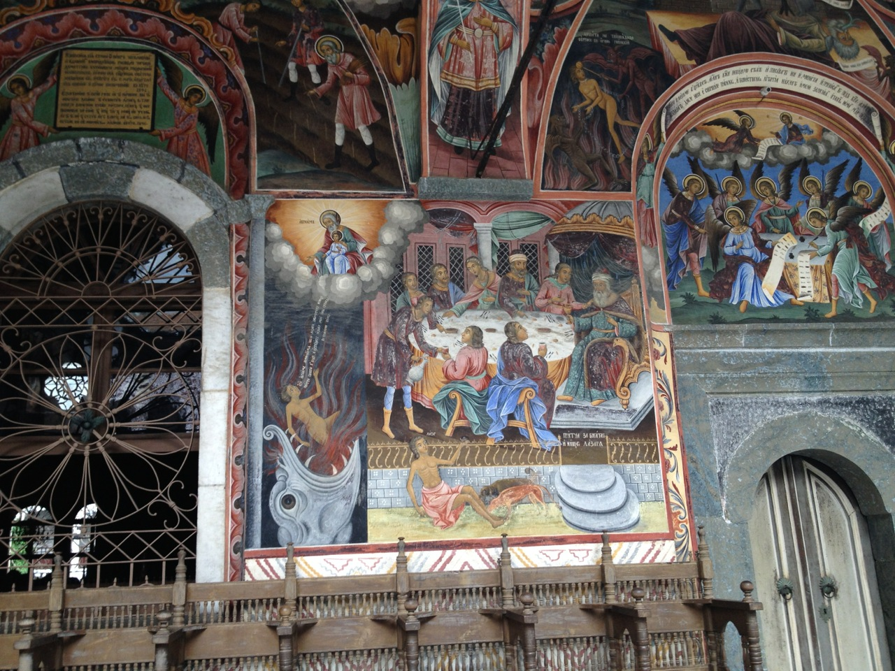 Rila Monstery Frescoes
