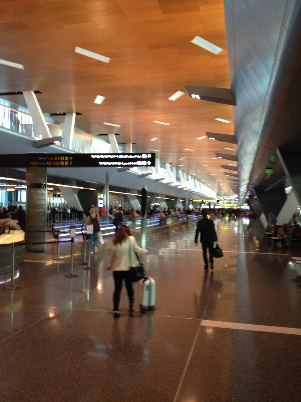 Early morning at Hamad International Airport