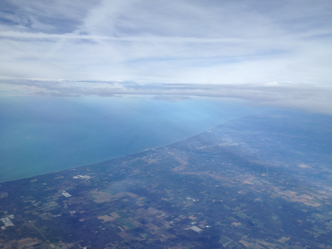 Finally, almost there: Lake Michigan