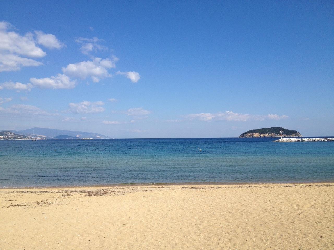 Aegean seacoast, Kavala Gulf