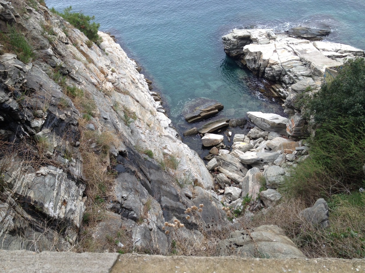 View from the path