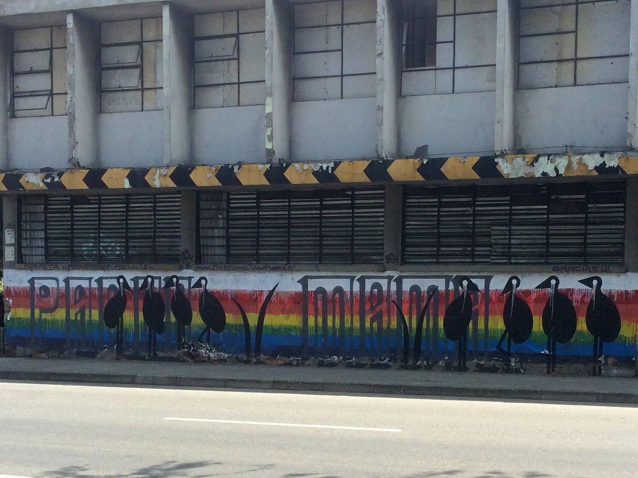 Medellin graffiti