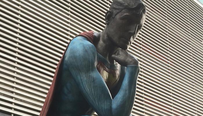 Superman in Medellin