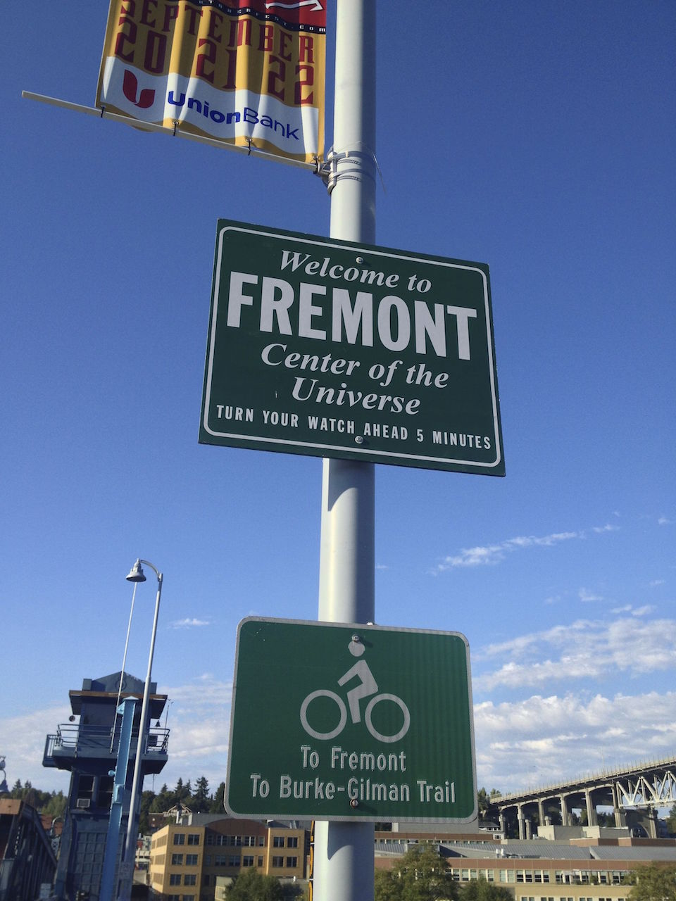 Fremont is not shy