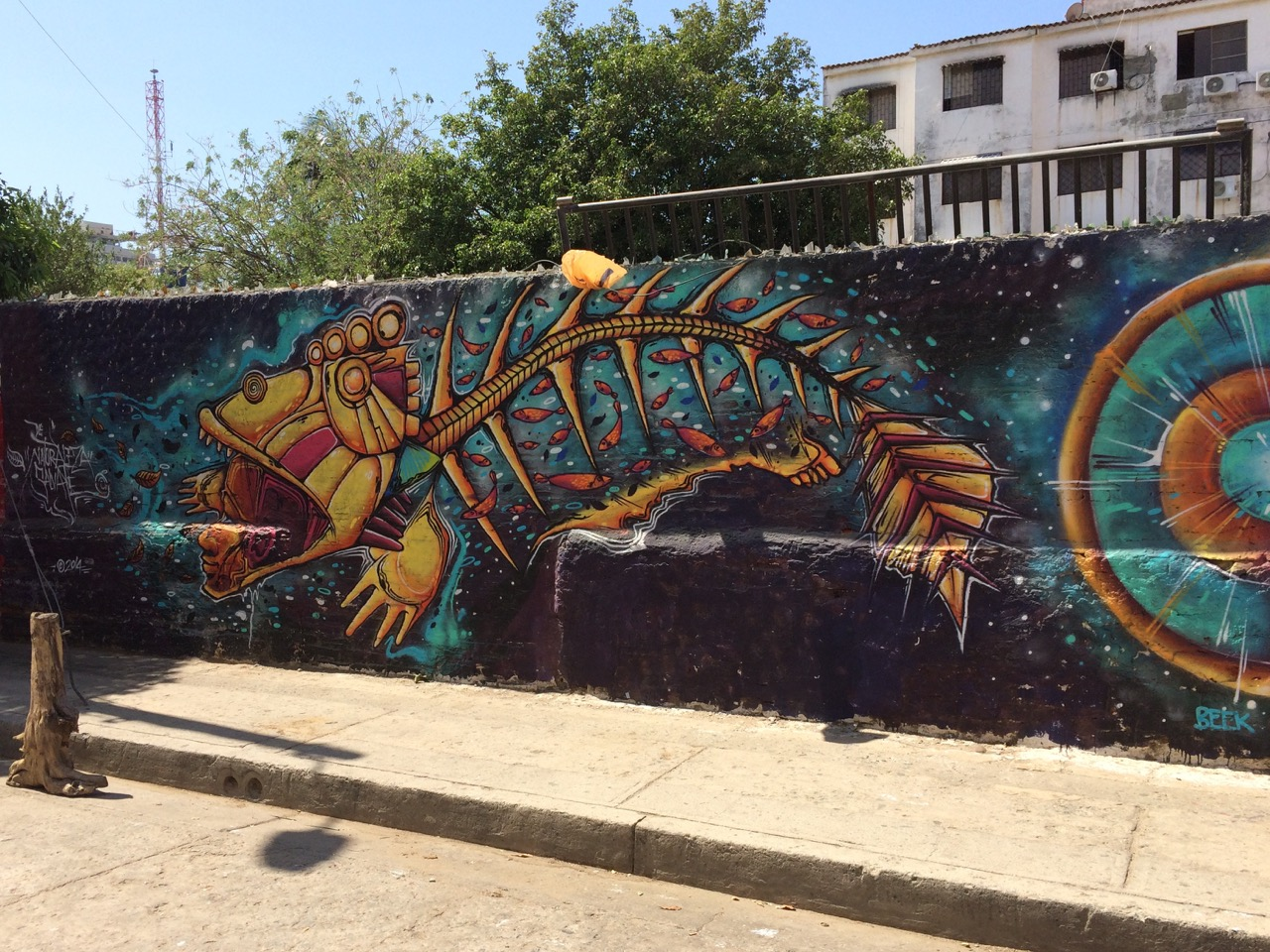 Santa Marta street art