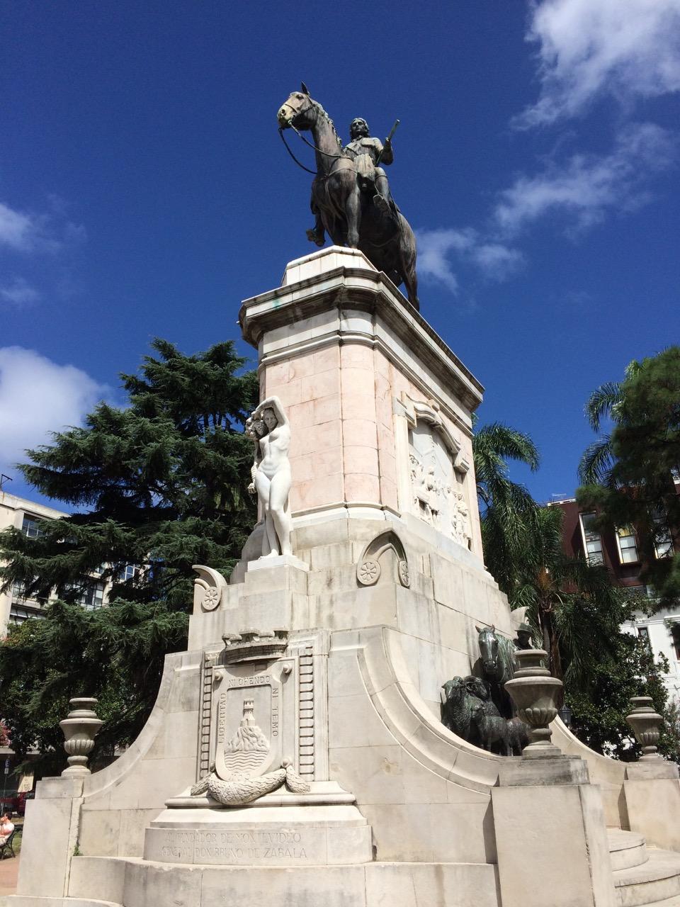 Bruno Mauricio de Zabala, the founder of Montevideo