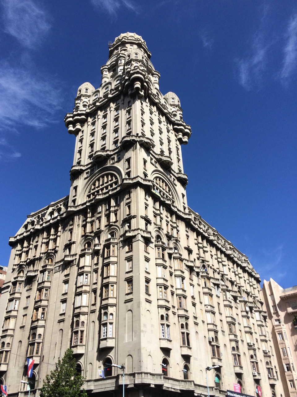 Palacio Salvo, the most famous landmark of Montevideo