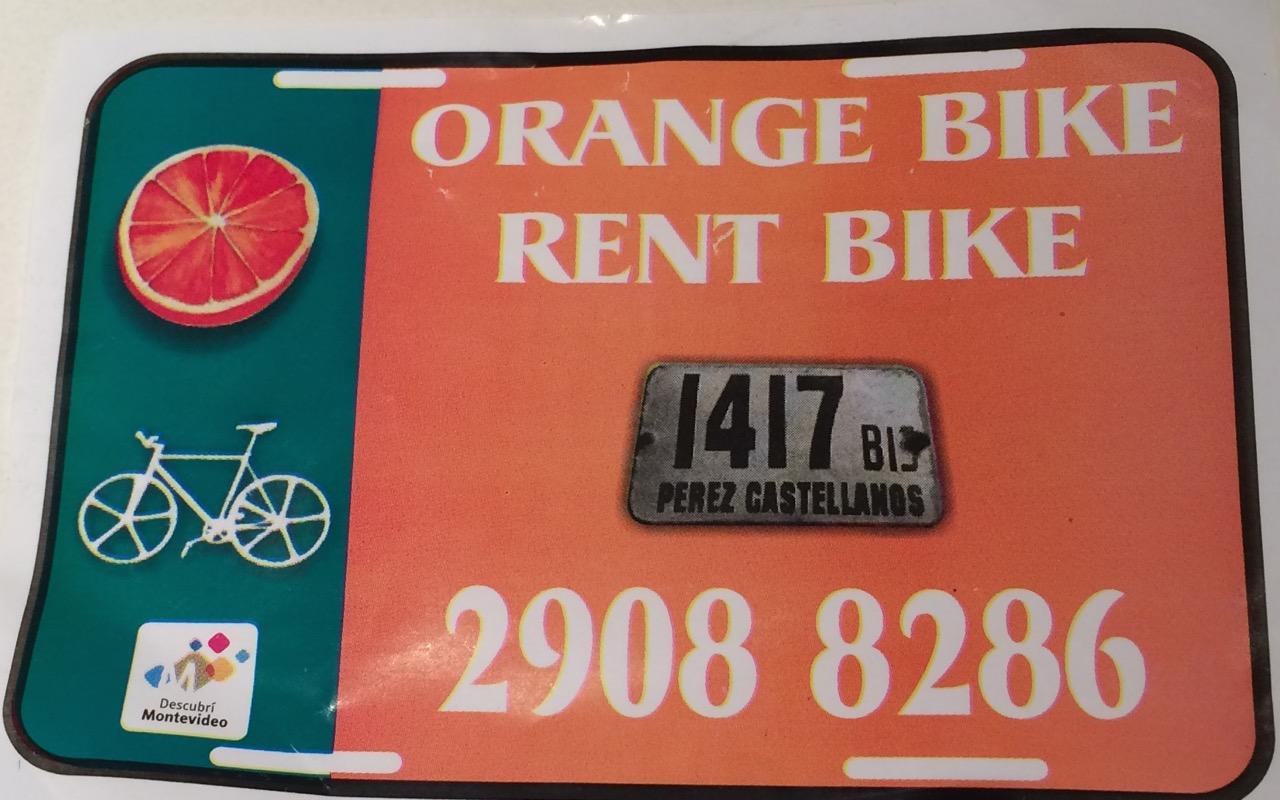 Orange Bike Flier