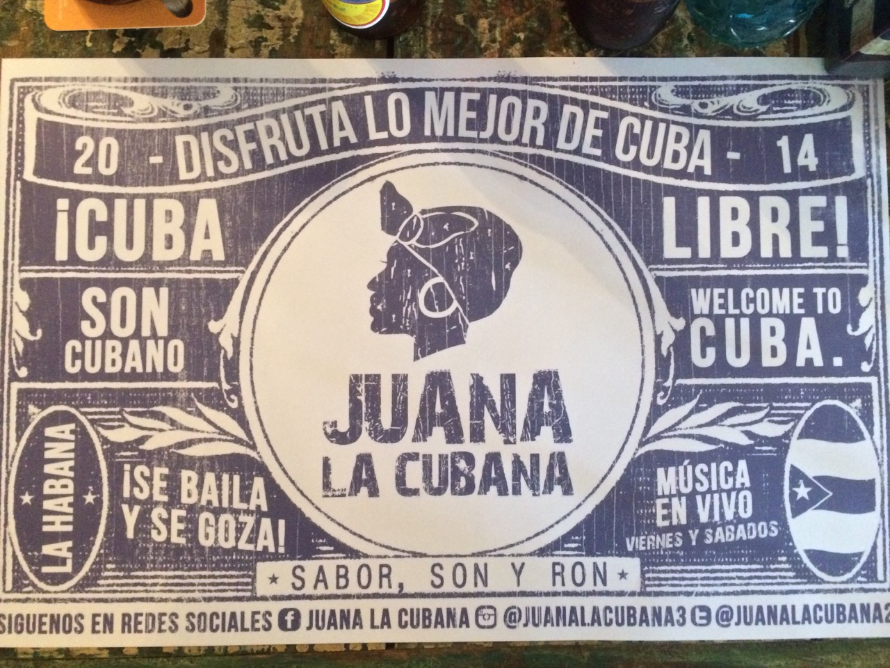 Juana La Cubana for your enjoyment