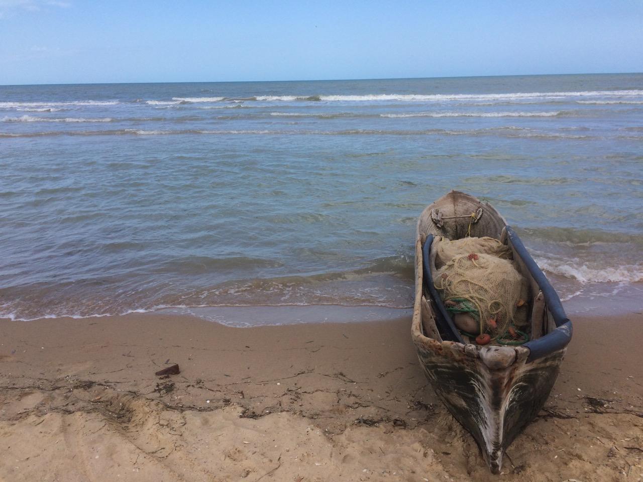 Boca de Camarones coast