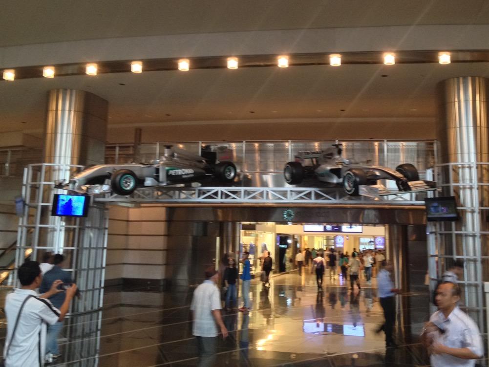 Kuala Lumpur Photos: F1 Cars