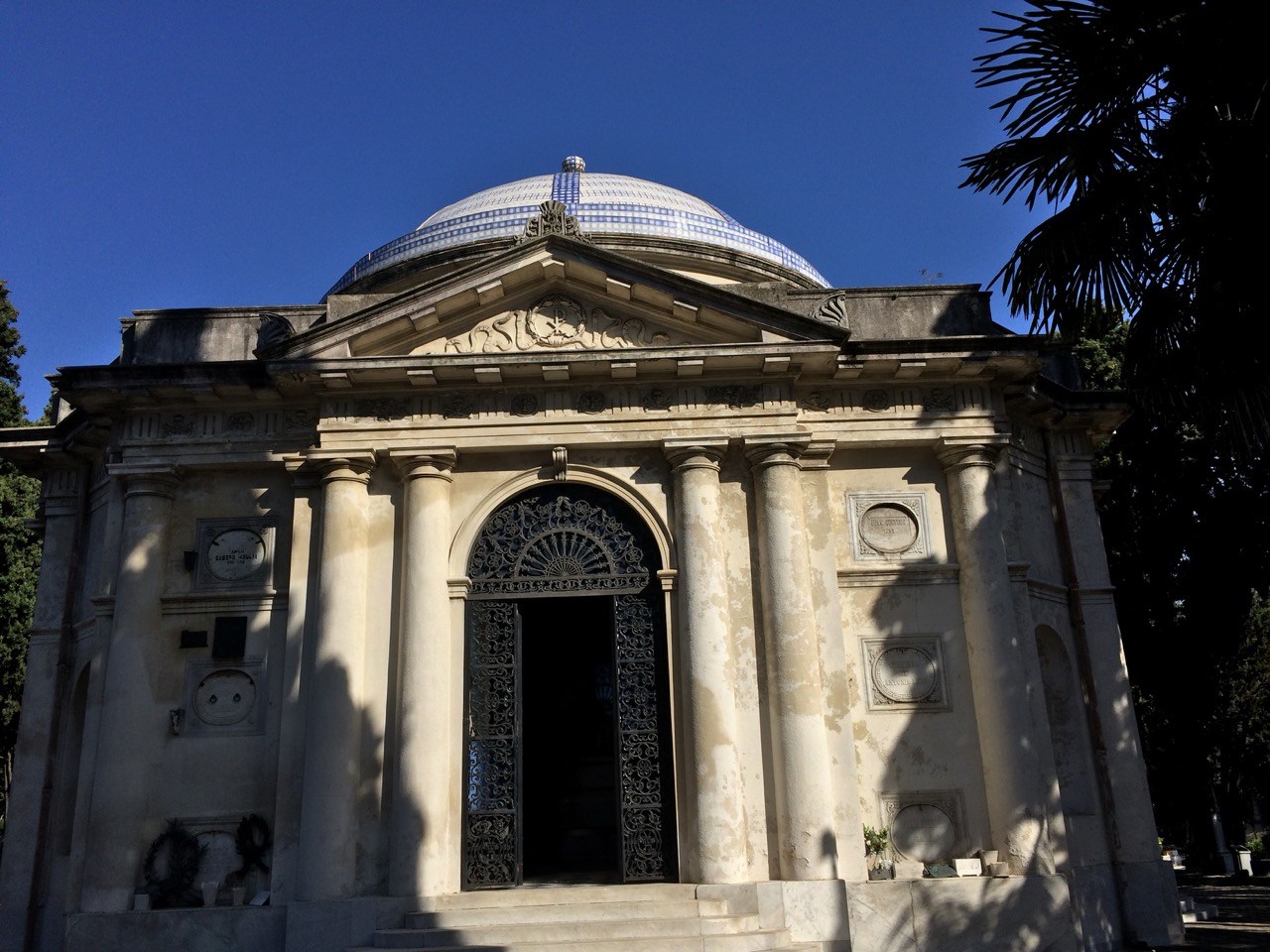 The Central Cemetery of Montevideo