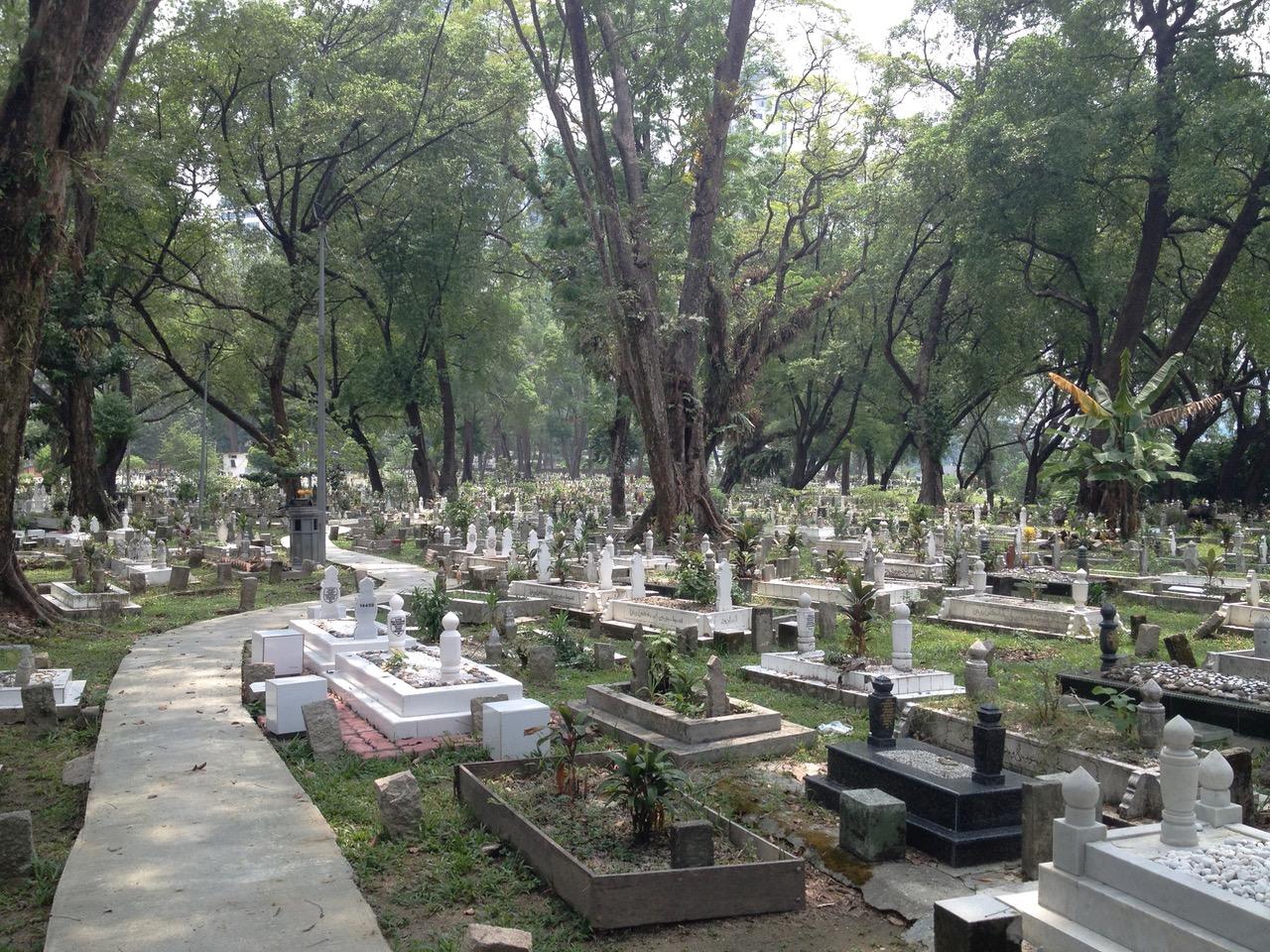 Kuala Lumpur Photos: Kampung Baru Muslim Cemetery