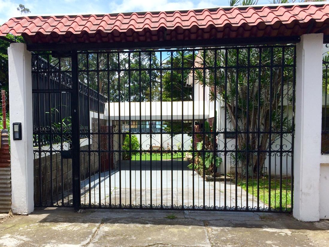 The gates are impressive