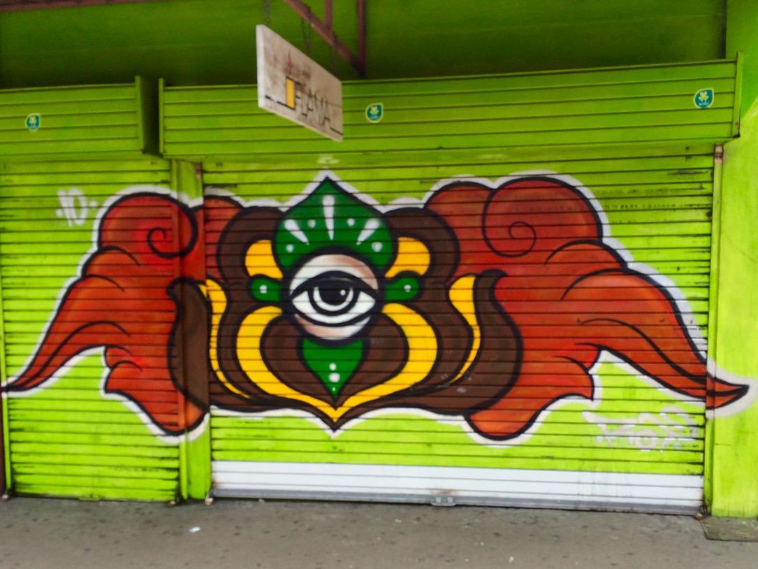 Street art in Costa Rica