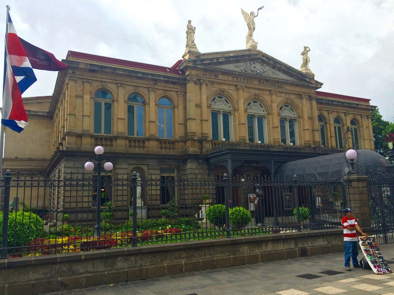 Teatro Nacional is a rare example of classical architecture of San Jose