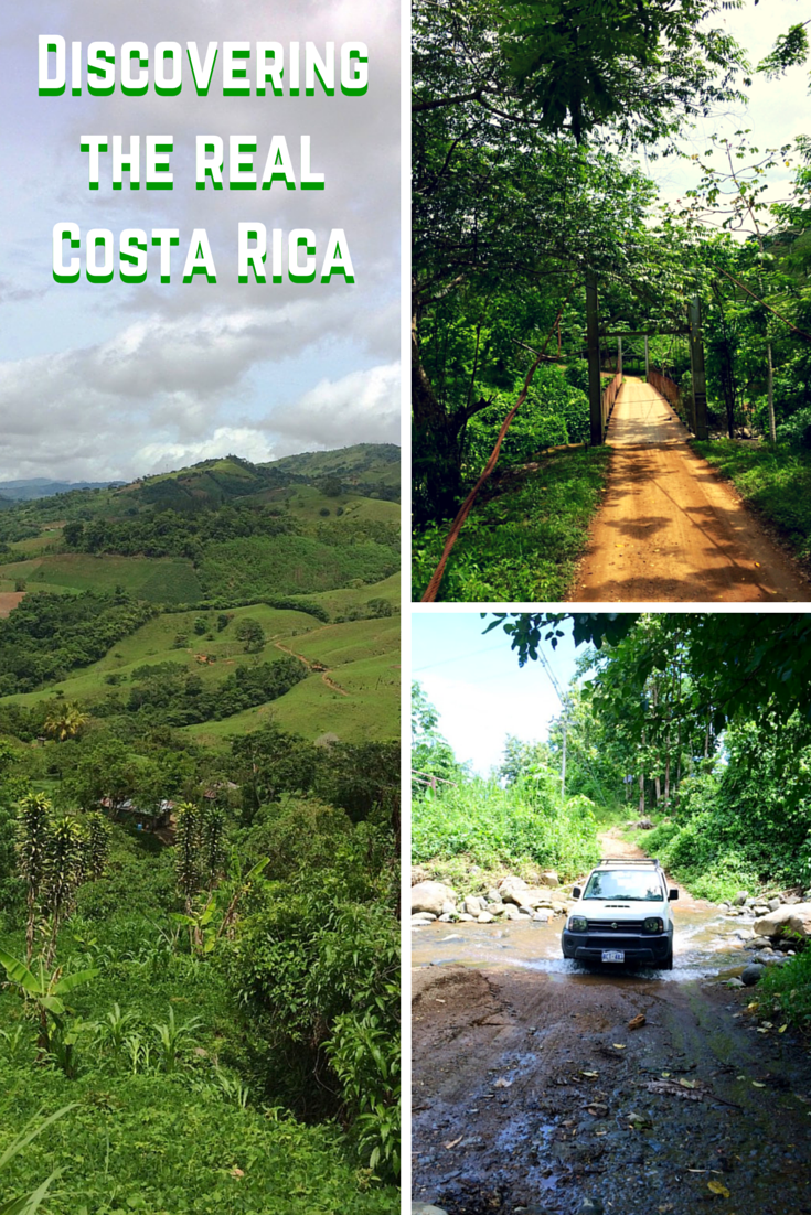 Discovering the real Costa Rica Pinterest Poster