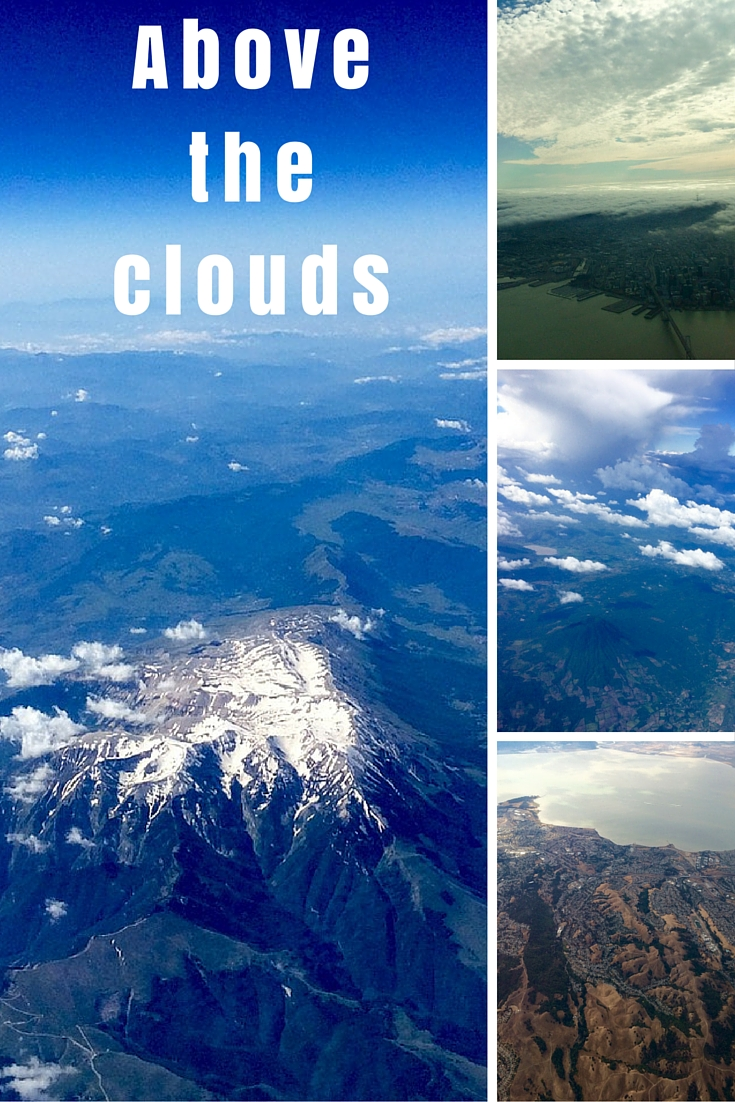 Above the clouds Pinterest Pin