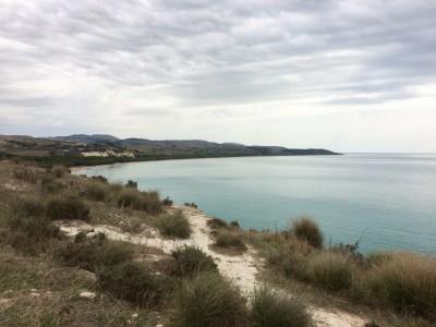 Eraclea Minoa coast