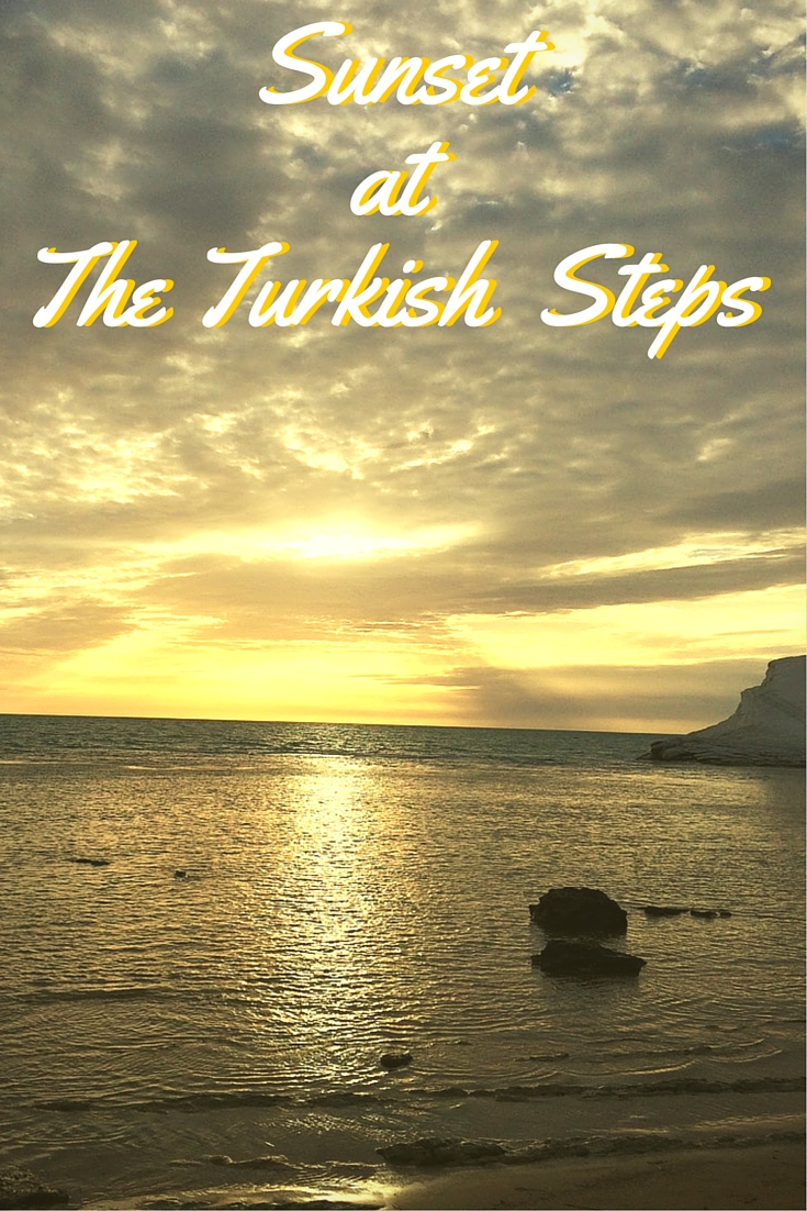 Sunset At The Turkish Steps