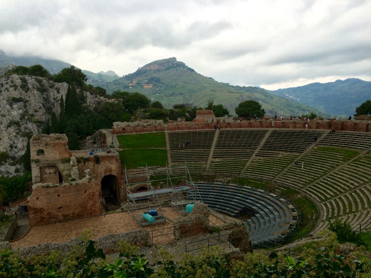 The ancient Theater of Taormina