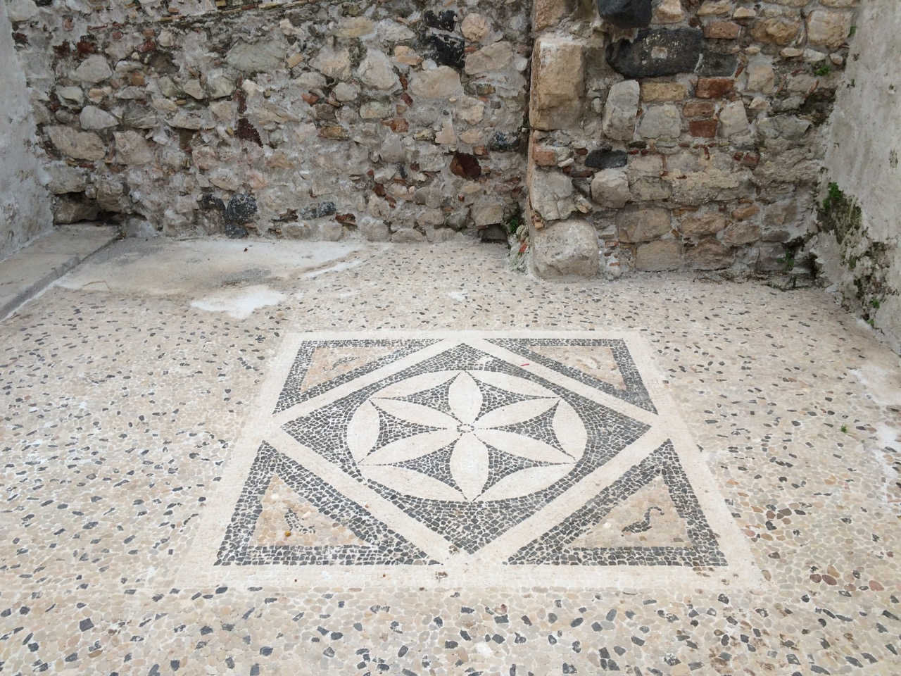 Hellenic Mosaic 2nd Century BC