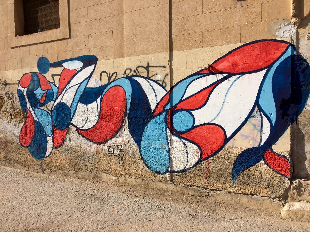 Street art by Zolta