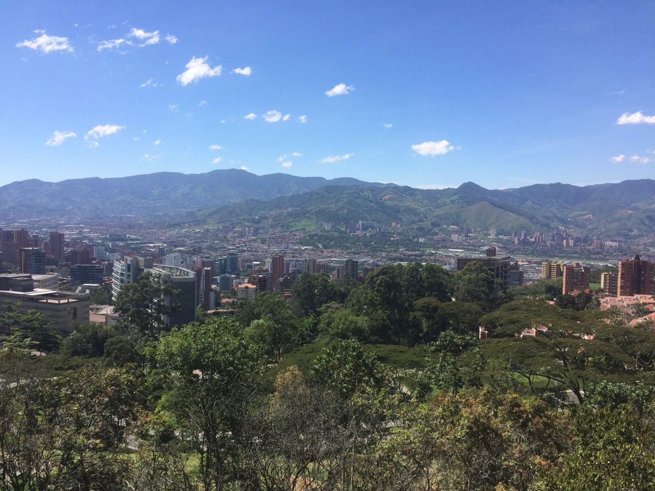 Medellin weather is famous for being springlike year around