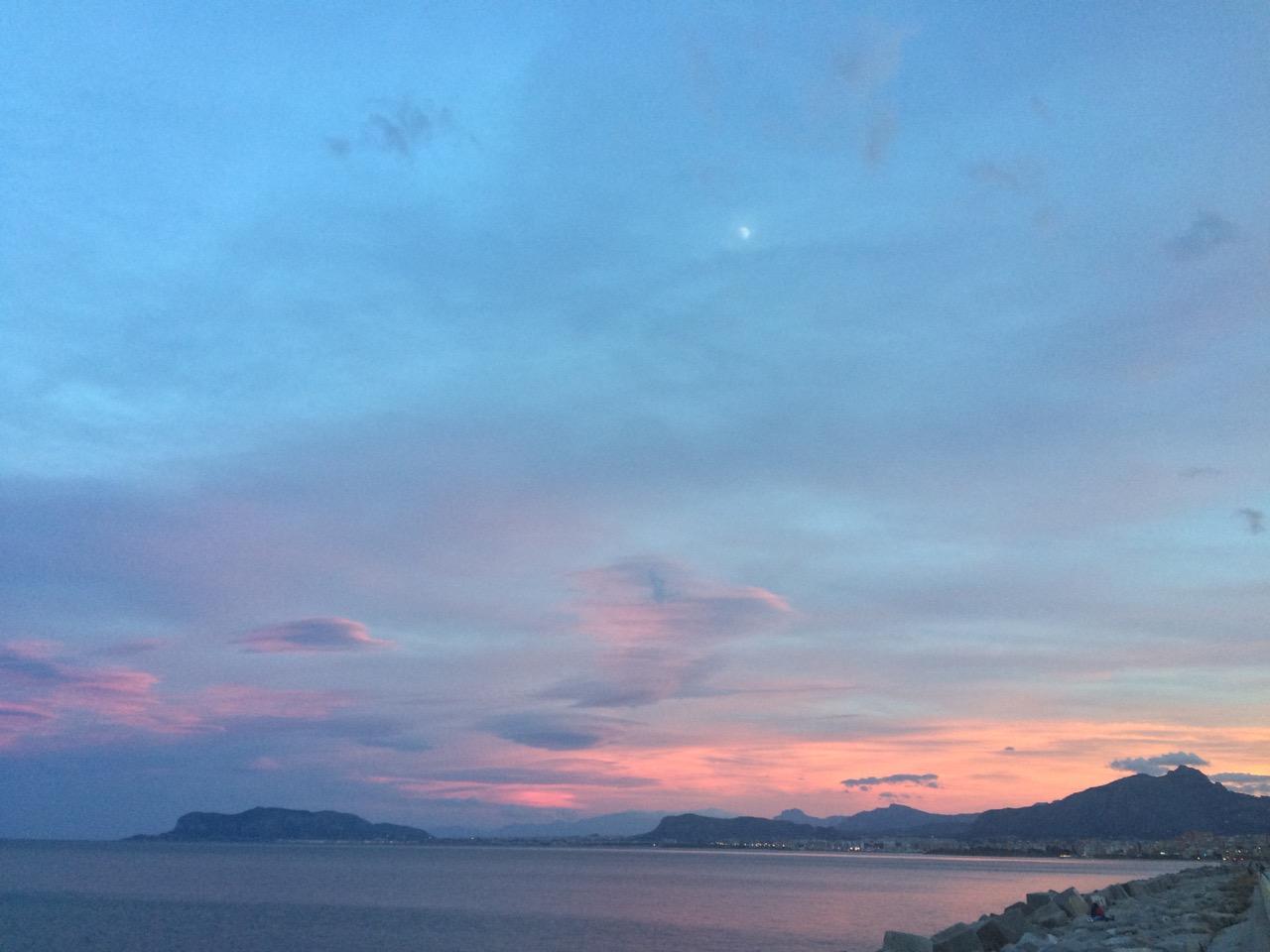 Unforgettable Palermo's sunset