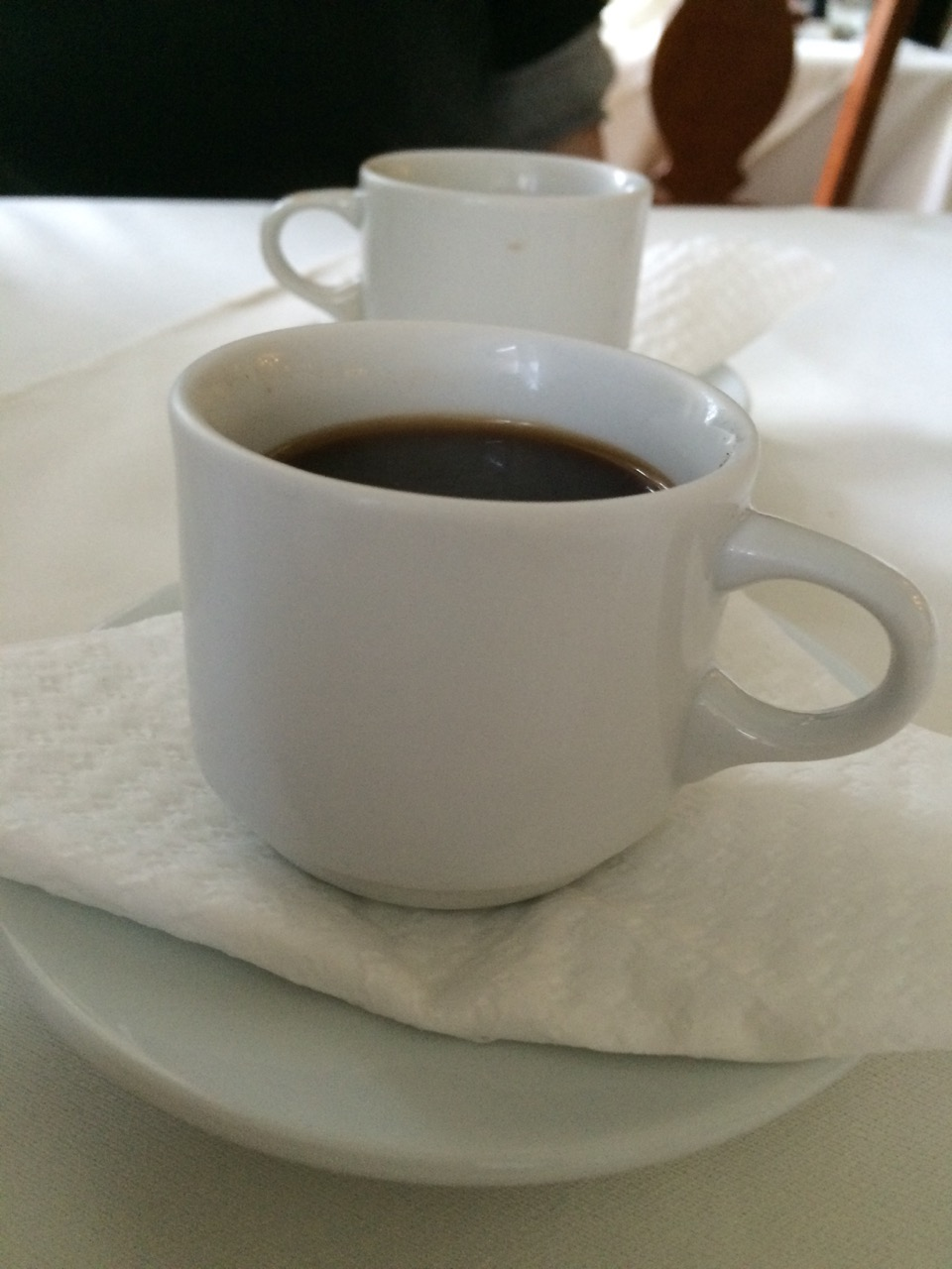 Lebanese coffee to finish the meal