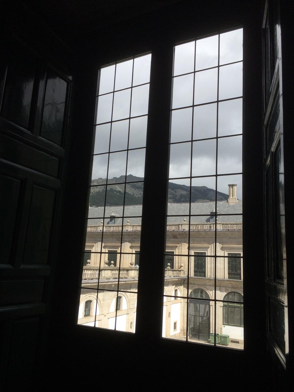 Windows of El Escorial