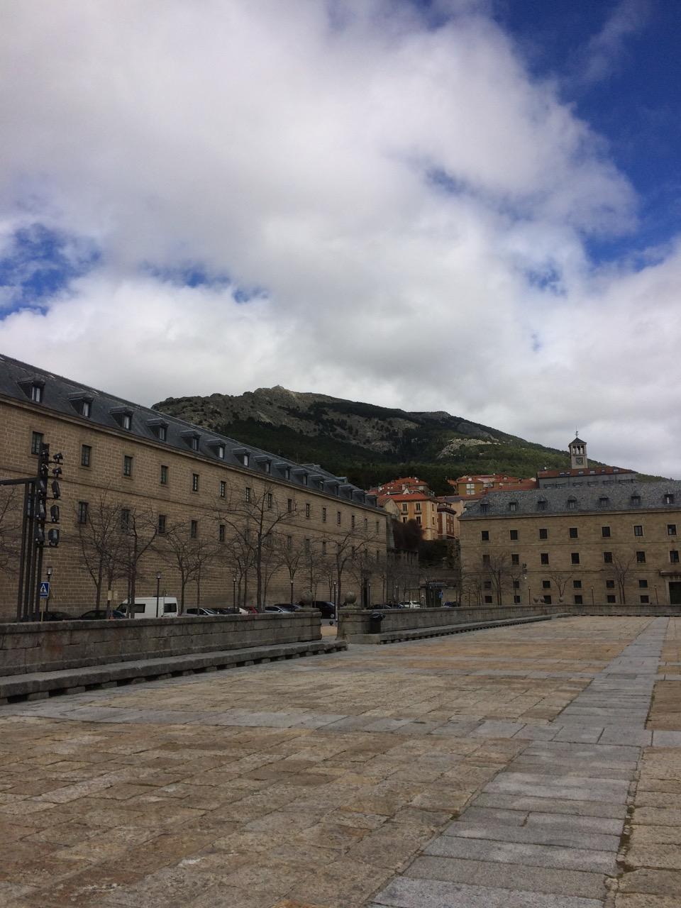 El Escorial is situated in the Sierra de Guadarrama