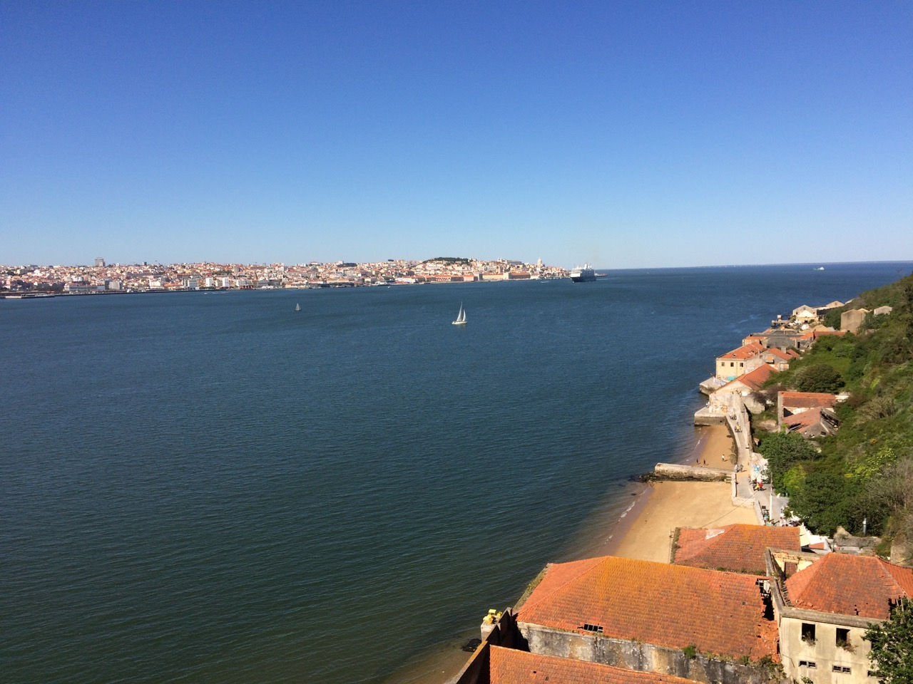 Lisbon from across the river