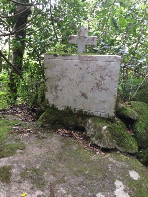 A tomb? we stumble upon in the forest