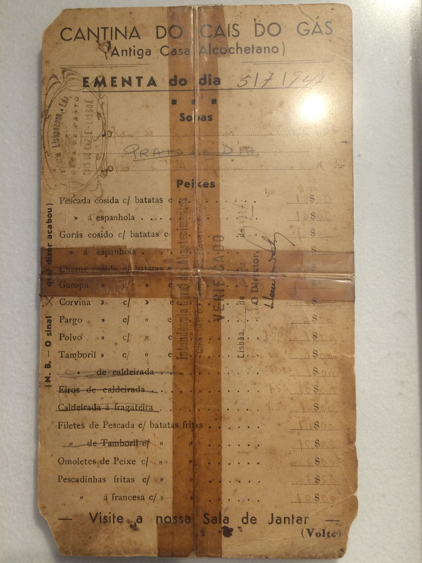 Portugal's food rationing in 1947