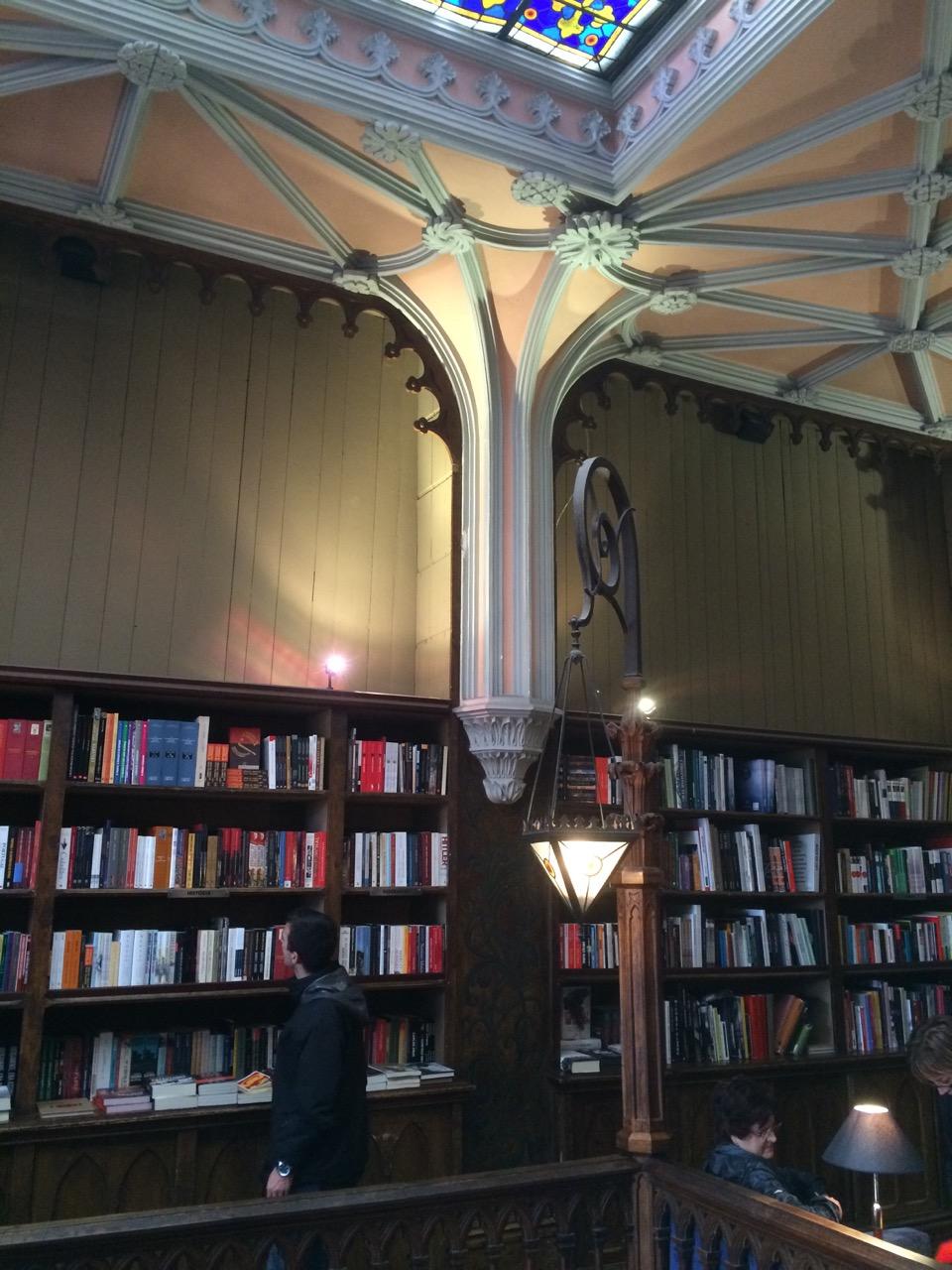 Livraria Lello, upper level