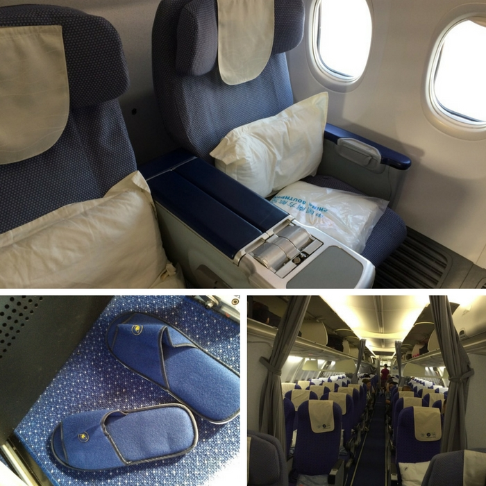 China Southern Boeing 737 Business Class