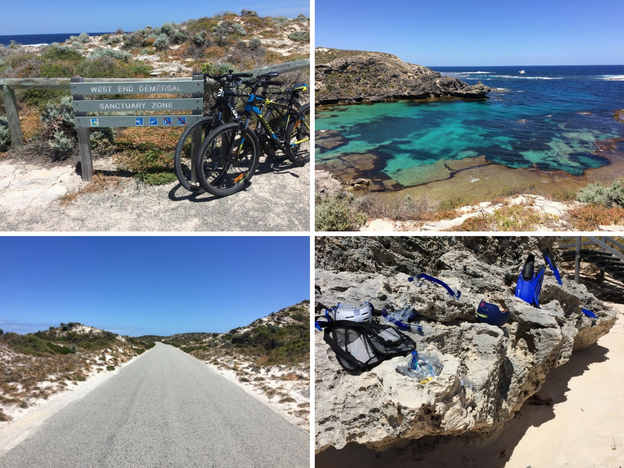 Bicycling on Rottnest