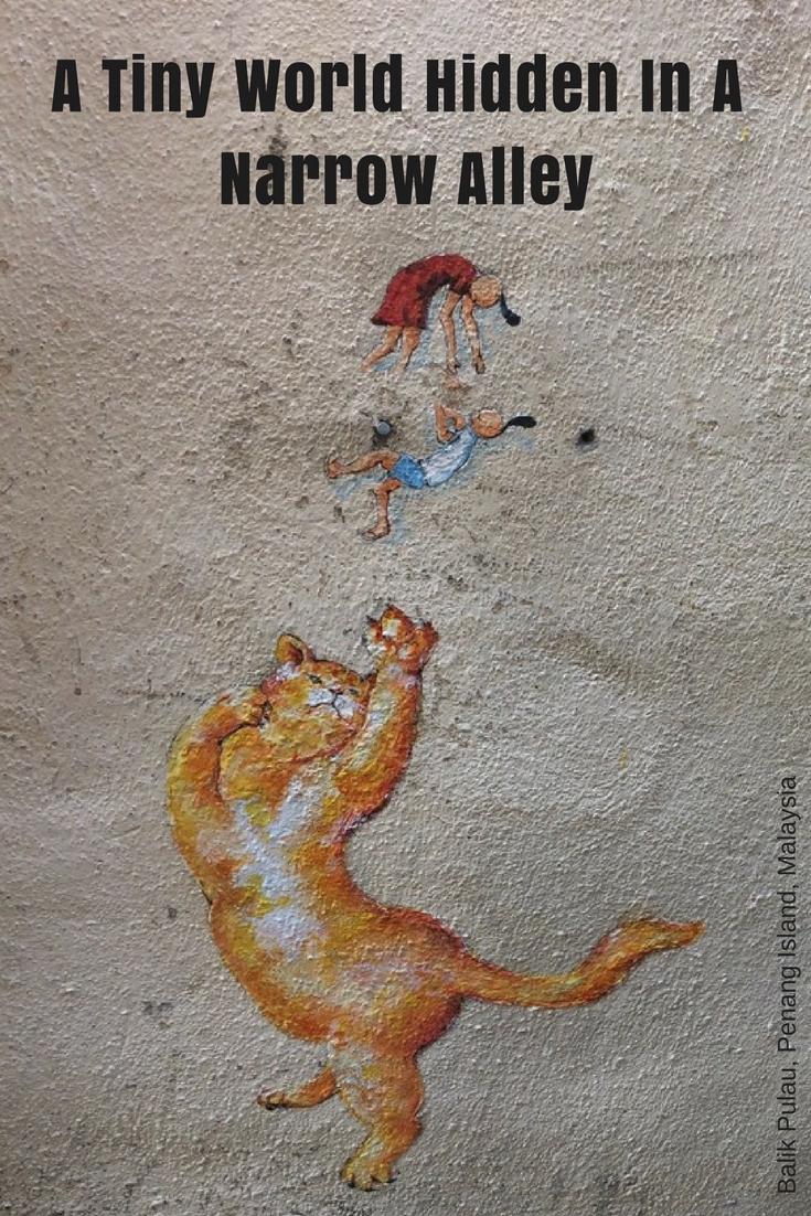 Balik Pulau Street Art Pin