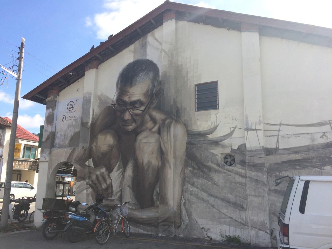 Balik Pulau Street Art