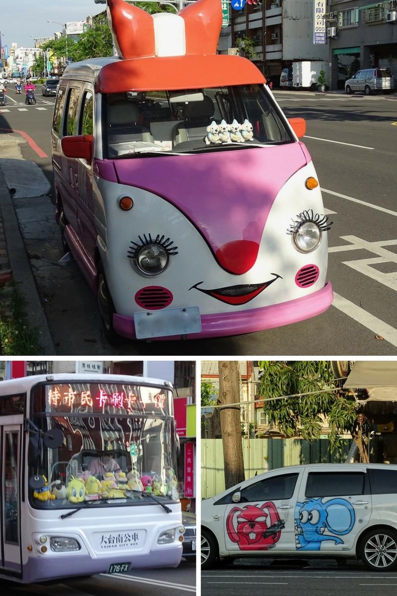 Cars of Tainan