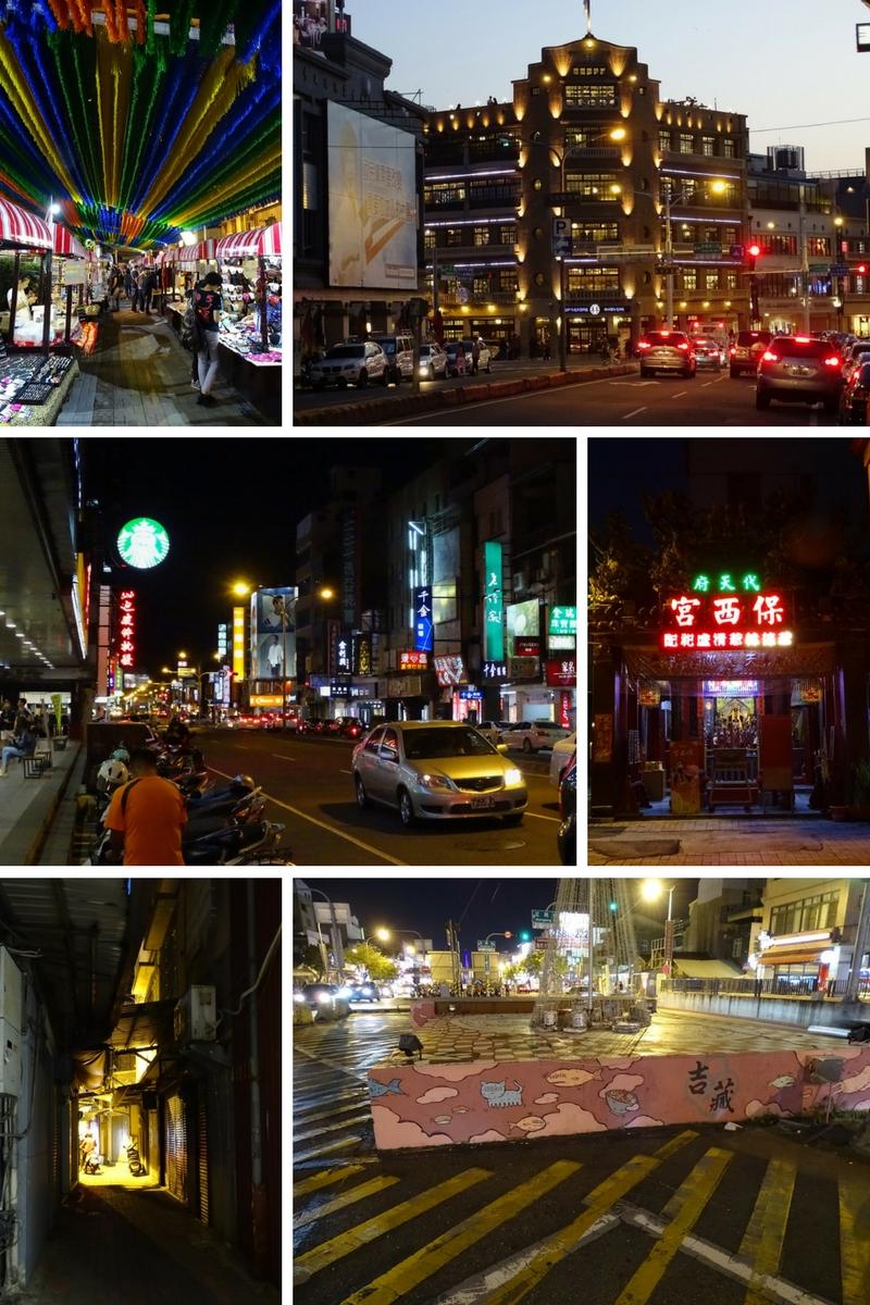 Tainan after sunset