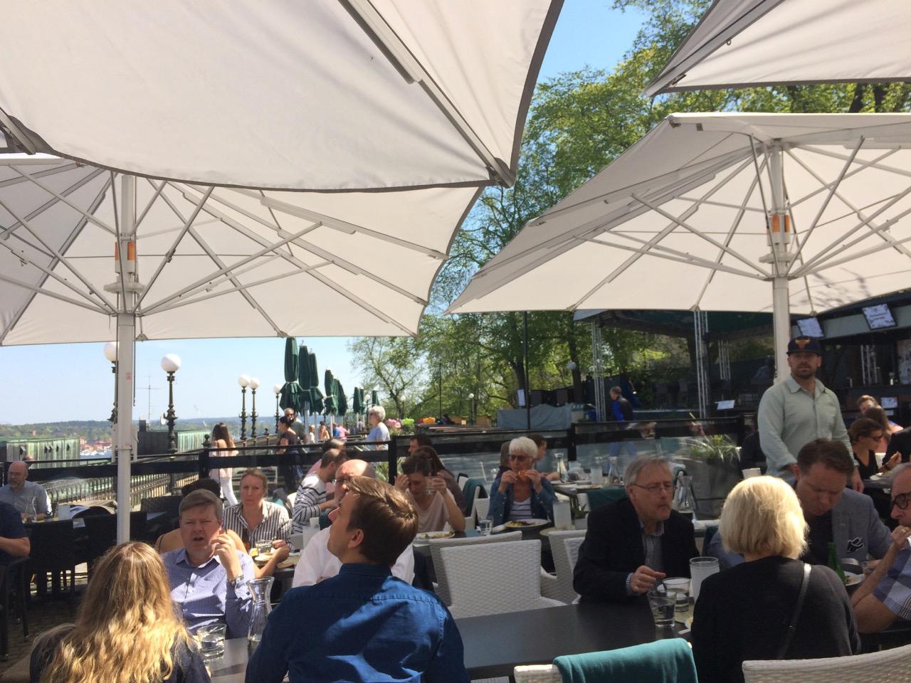 Stockholm lunch