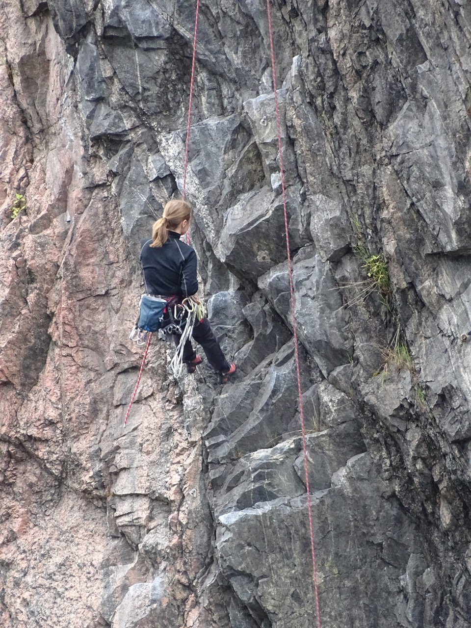Rock climbing in Sodermalm
