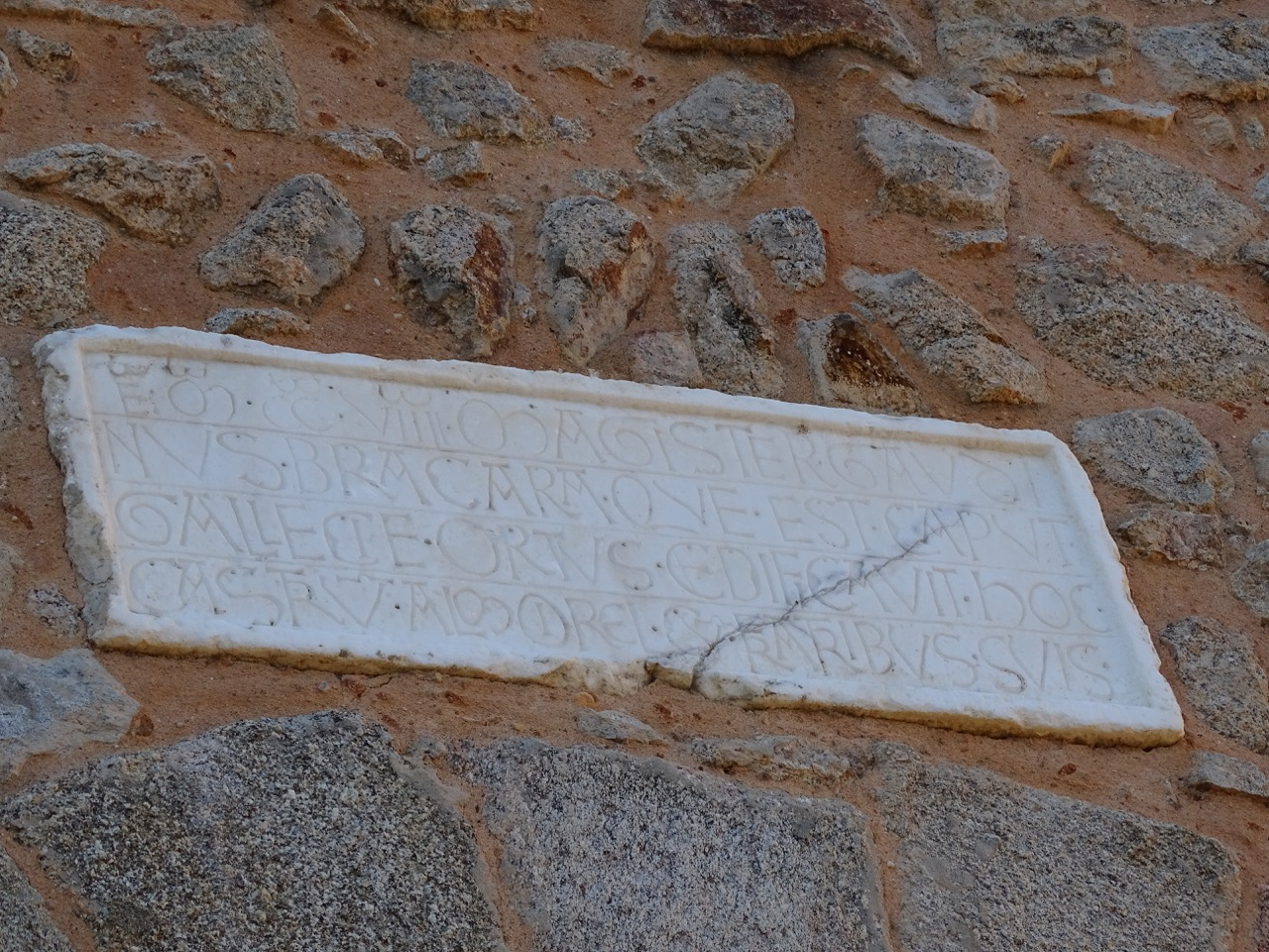 The inscription