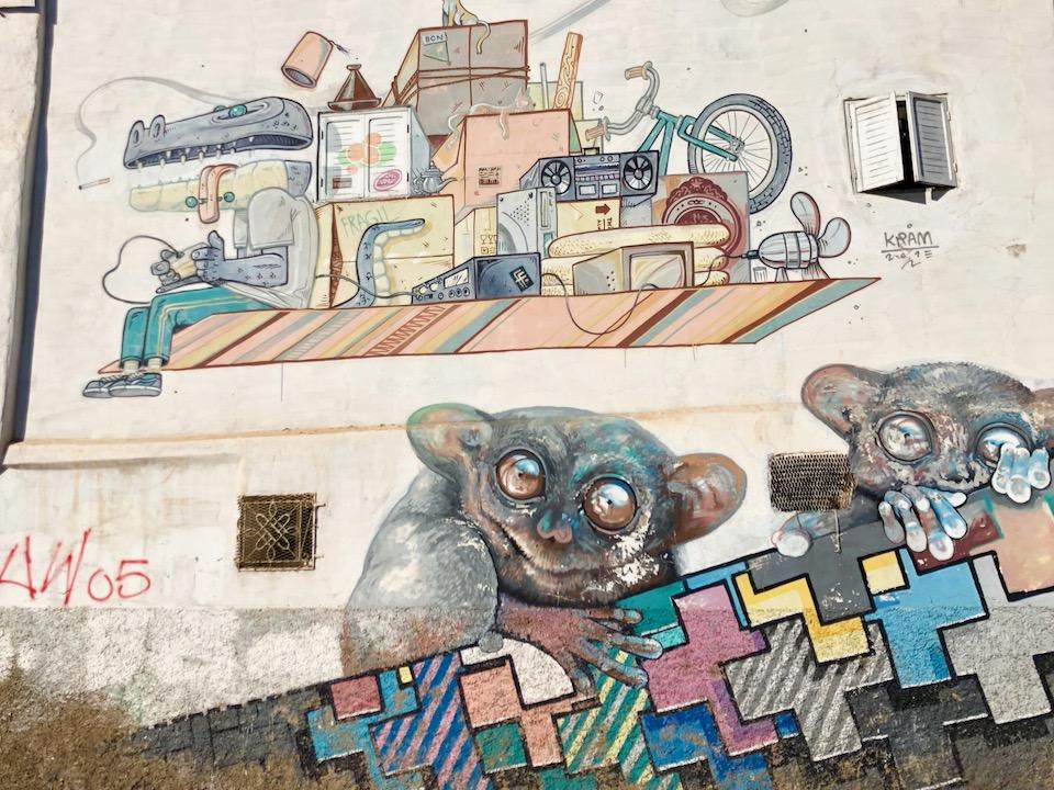 Casablanca Street Art, Kram