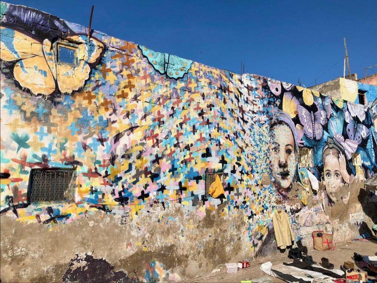 Casablanca Street Art, Morran Ben Lahcen